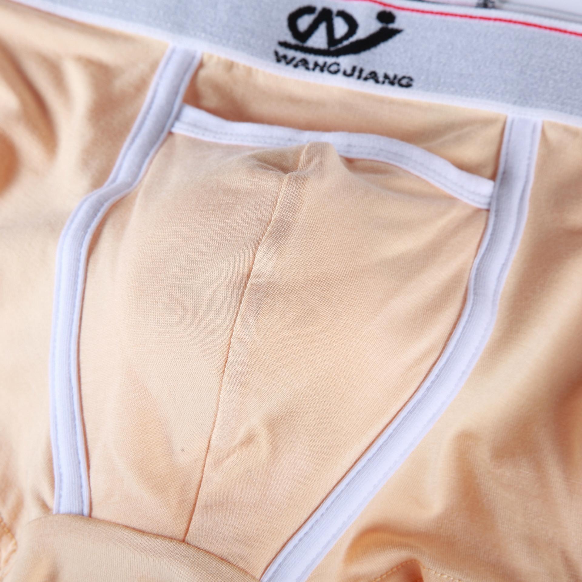 WJ / 통기성 얇은 스타일 WJ / 웹 마스터 남성의 모달 속옷 복서 팬티 남성의 모달 숨 얇은 스타일의 복서 웹 마스터