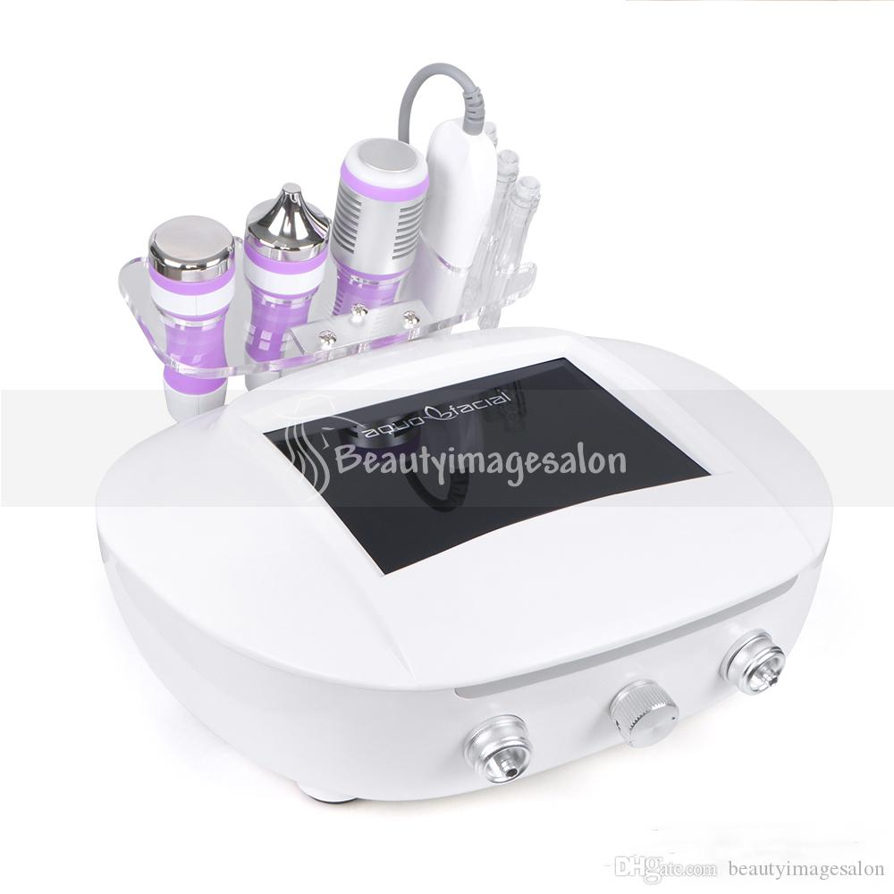 Hot Sale 5 In 1 Cavitation Ultrasonic Machine Cold Hammer Microdermabrasion Scrubber For Nutrition Double Absorption