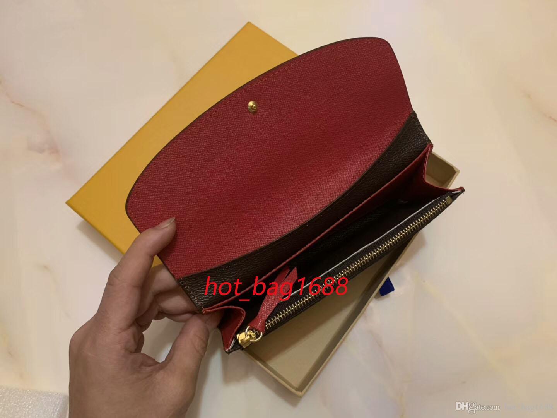 Venda Por Atacado Vermelho Bottoms Long Cover Wallet Multi Color Designer Coin Card Card Caixa Original Caixa Mulheres Embreagem Clássica