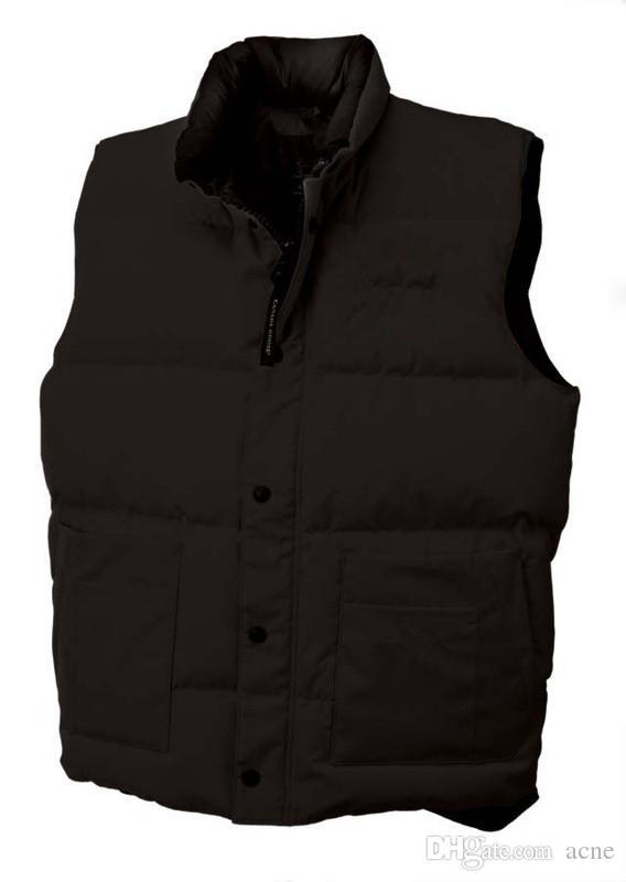 Veste canadienne Marque hiver Gilet veste pour hommes Homme FreeStyle Gilet Canada Gilet Vest vers le bas Jassen Expedition Parka Chaquetas-vêtement