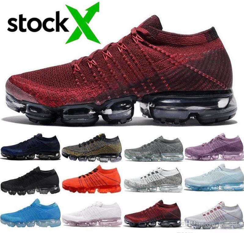2018 Nouvelles vapeurs Arrivée Hommes choc Racer Chaussures Pour Top Qualité Mode Casual Chaussures Sport Sneakers formateurs