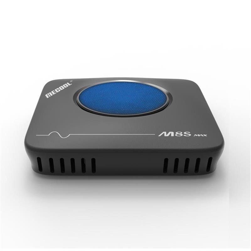 مربع MECOOL TV m8s ماكس AMLogic نوع S912 3GB + 32GB Android7.1 واي فاي 4K Blutooth و