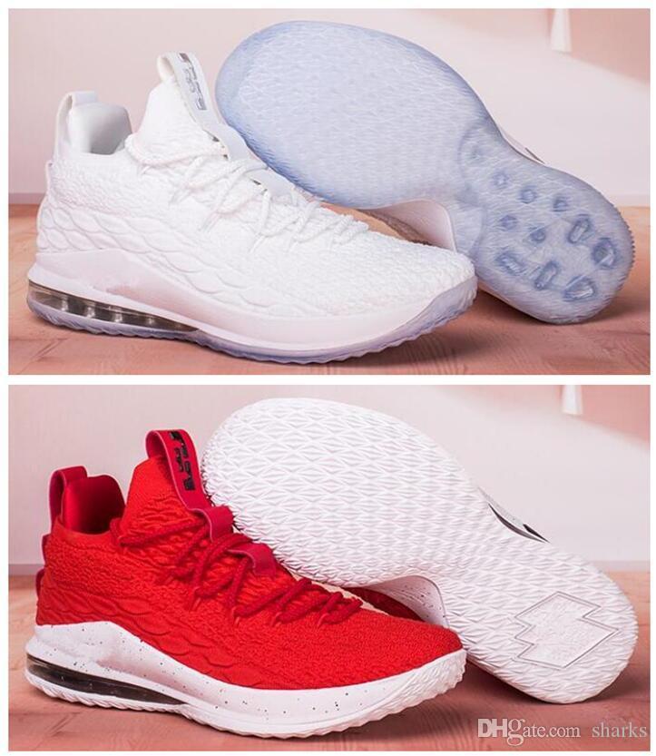 2020 mens economici lebrons 15 scarpe basse da basket Blue Gold Marrone Viola Natale 2020 nuovo James Kyrie lebronss 15s scarpe da ginnastica xvii tennis eur