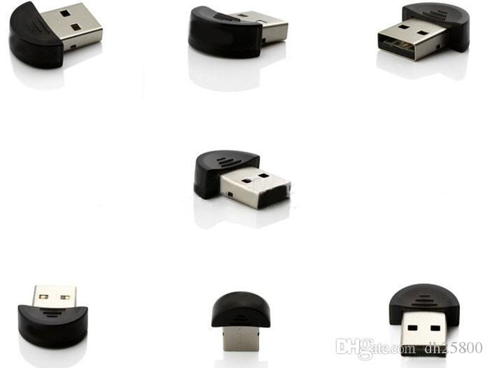 Yeni Mini USB Bluetooth Dongle Adaptörü Dizüstü PC Win Xp Win7 8 iPhone 4GS 5GS 17OTC21 Ücretsiz teslimat