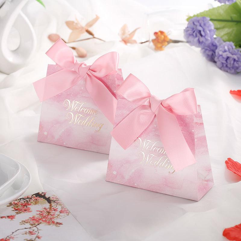 Chen fan Manufacturers Candy Box Korean Style Wedding Candy Bags Personalized & Creative Marriage Supplies Box Souvenir Wh