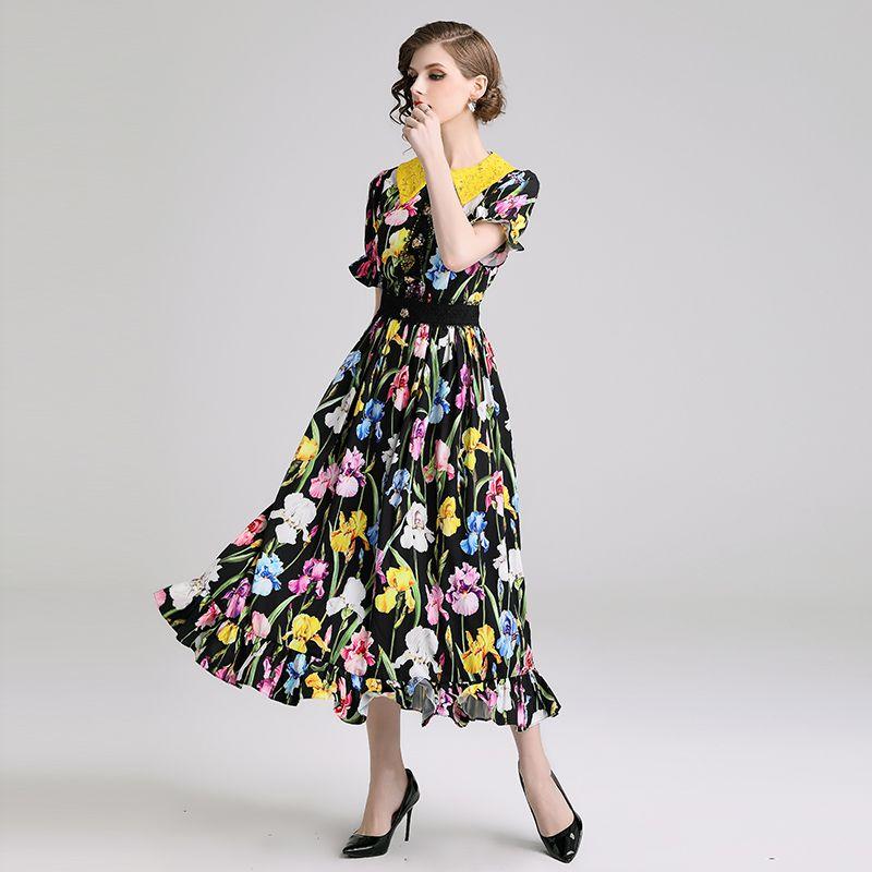 Moda Vestido JiaMeng c/óctel de Fiesta JMQZ013 Pare Mujer