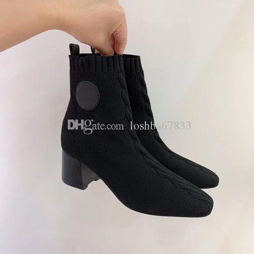 Дизайнер зимние сапоги Western Cowboy Ботильоны Martin 100% натуральная кожа эластичная ткань пинетки Остроконечные Toe Роскошные женщины обувь с коробкой U