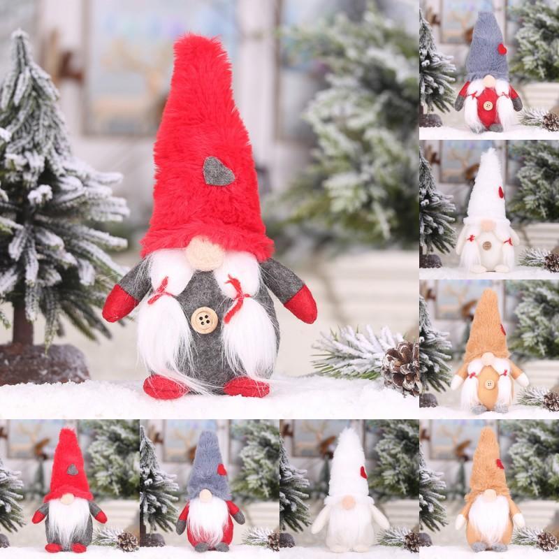 Livre DHL 201910 Hot alta qualidade Decoração de Natal Plush Floresta Homens Sem Rosto Doll Decoration partido Brinquedos Idosos Homens Criança Fontes M631A
