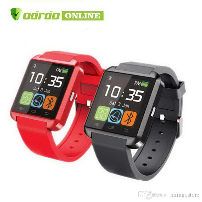 Bluetooth Smartwatch U8 Smart Watch Phone Mate Relojes táctiles para iPhone 4S 5 5S Samsung S4 S5 Note 2 3 HTC Android Teléfono Smartphone