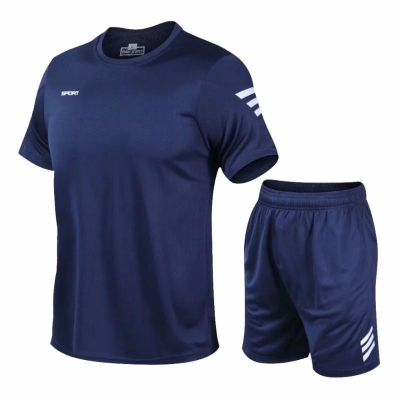 Koşu Formalar Erkekler Kadın T Gömlek Hızlı Kuru Spor Eğitim Egzersiz Giysileri Futbol Basketbol Tenis Spor Takım Elbise