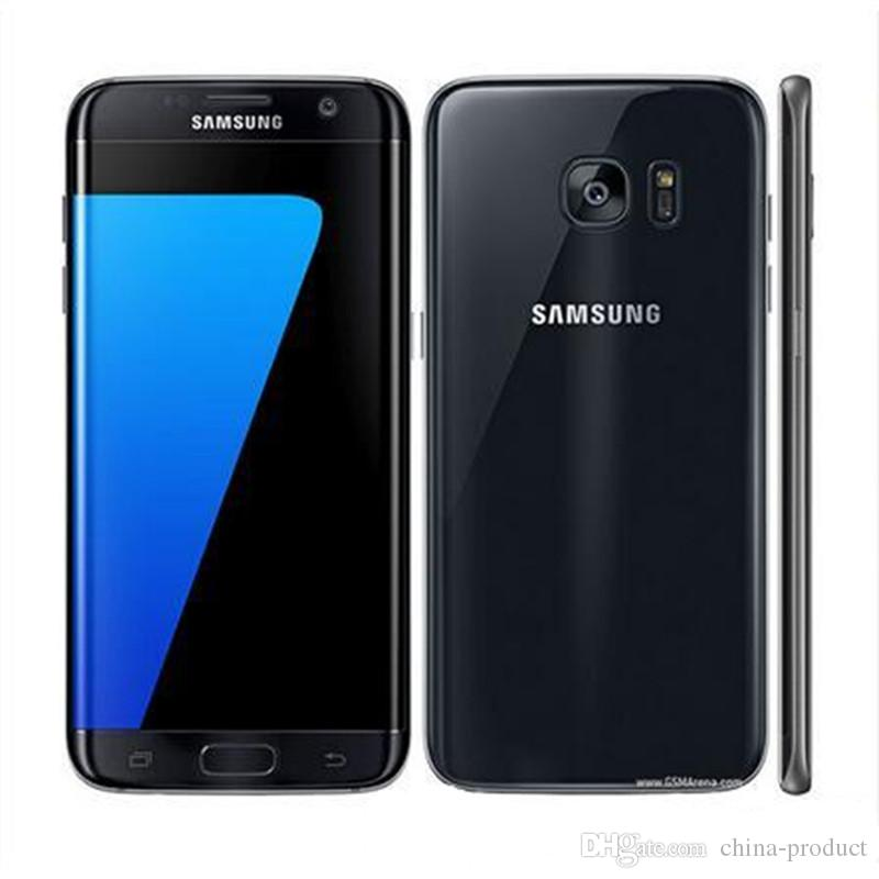 Samsung Galaxy S7 Edge Mobile Phone 5.1inch 4GB RAM 32GB ROM Quad Core 2.3GHz Android 6.0 12MP 4G refurbished phone