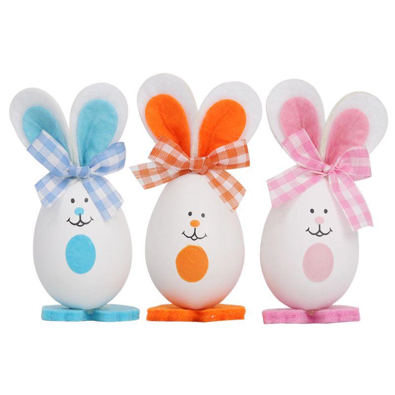 Пасхальное яйцо Пасхальное инъекции пены кролик яйца крашеные яйца пасхальные яйца украшение подарок головоломки детские игрушки кролика