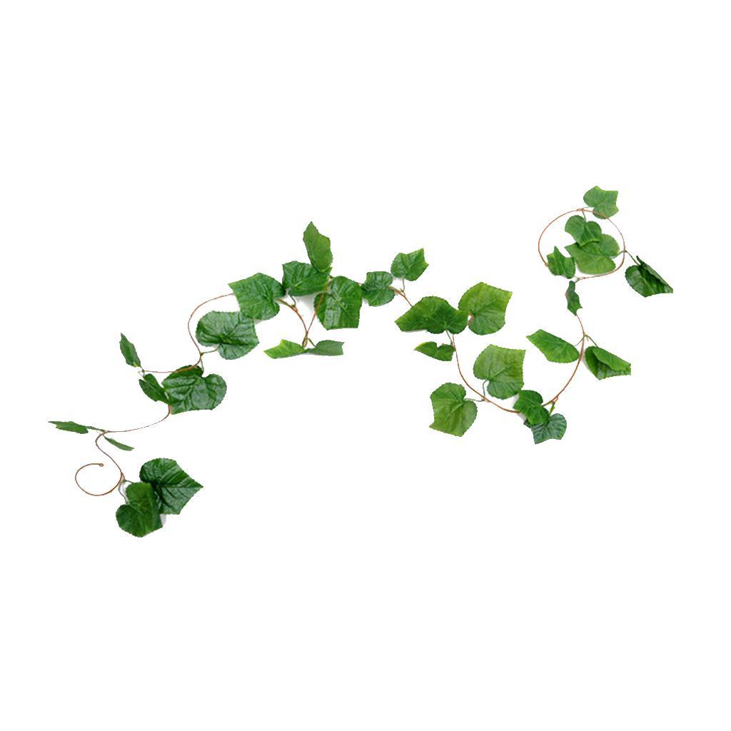 Las plantas artificiales vides Verde Garland falso hanging hojas del follaje por fiesta de la boda jardín Hogar