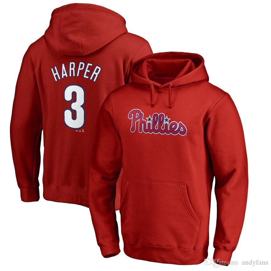 Philadelphie Phillie baseball hoodies harper Arrieta Kingery Place McCutchen Hoskin Realmuto Nola CUSTOM n'importe quel nom et numéro sweats