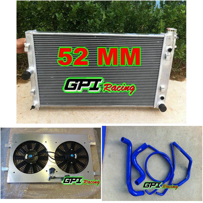 Radiateur + + suaire tuyau de ventilateur pour Commodore VZ HOLDEN LS1 LS2 V8 SS 04-06