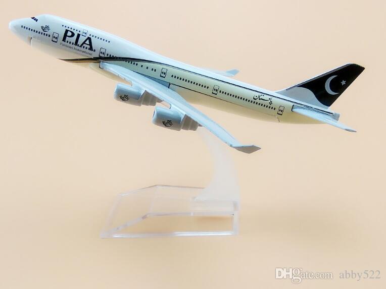 Compre 16 Centímetros Paquistão PIA Air Airlines Boeing 747 B747 ...