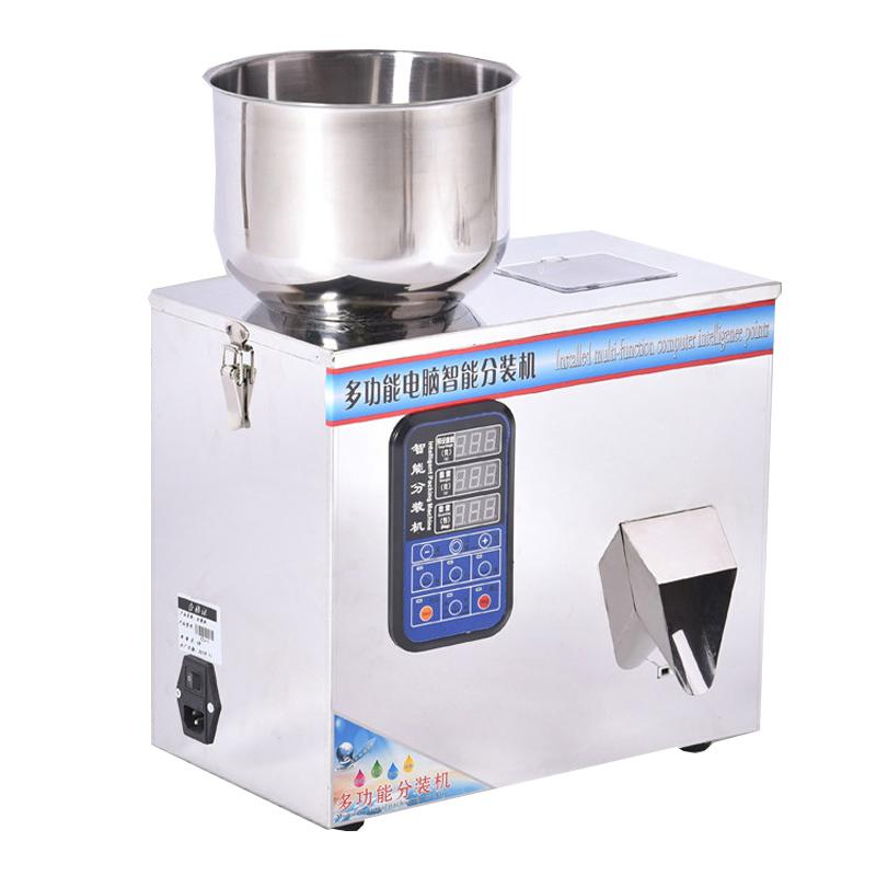 Quantitative filling machine for automatic weighing of powder granules coffee tea cat food miscellaneous grain packing machine