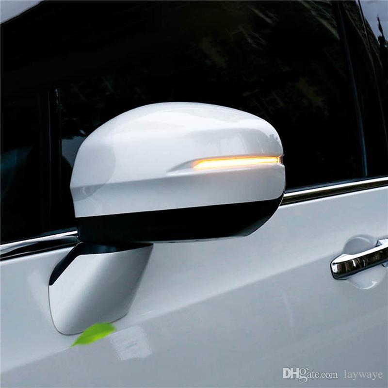 مرآة الرؤية الخلفية للباب الجانبي الجانبية بعد الحركة الوامضة المتتالية أدت إلى أضواء إشارة إشارة دوران ديناميكية لمصباح هوندا فيزيل