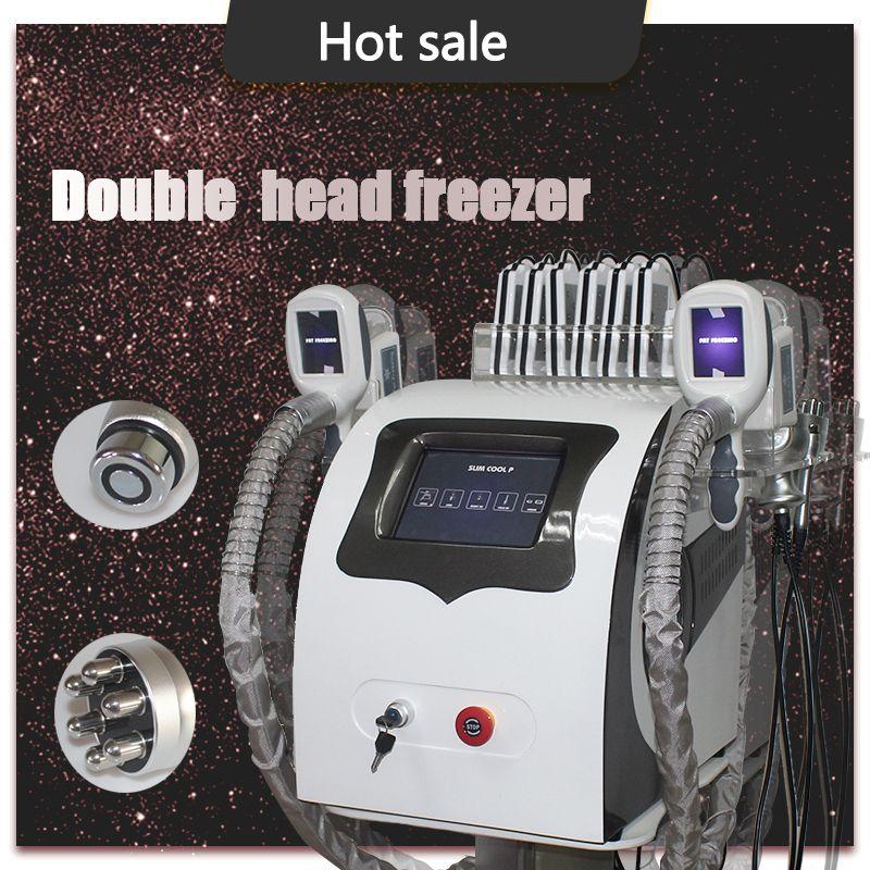 Cryo fat freezing body slimming machine cool cavitation system body sculpting fat freeze machine laser liposuction cavitation machine