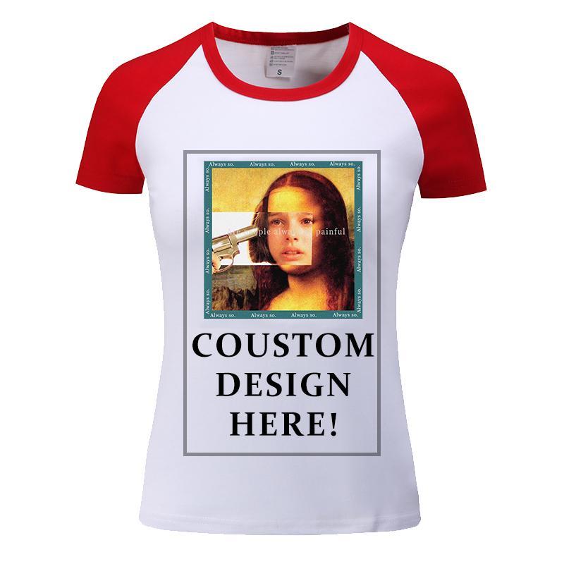 Été T couleurs mélangées Chemises Femmes Casual Chemise à manches courtes T-shirts Hauts de t-shirt propre fabriquerons Imprimer Logo photo pour les hommes