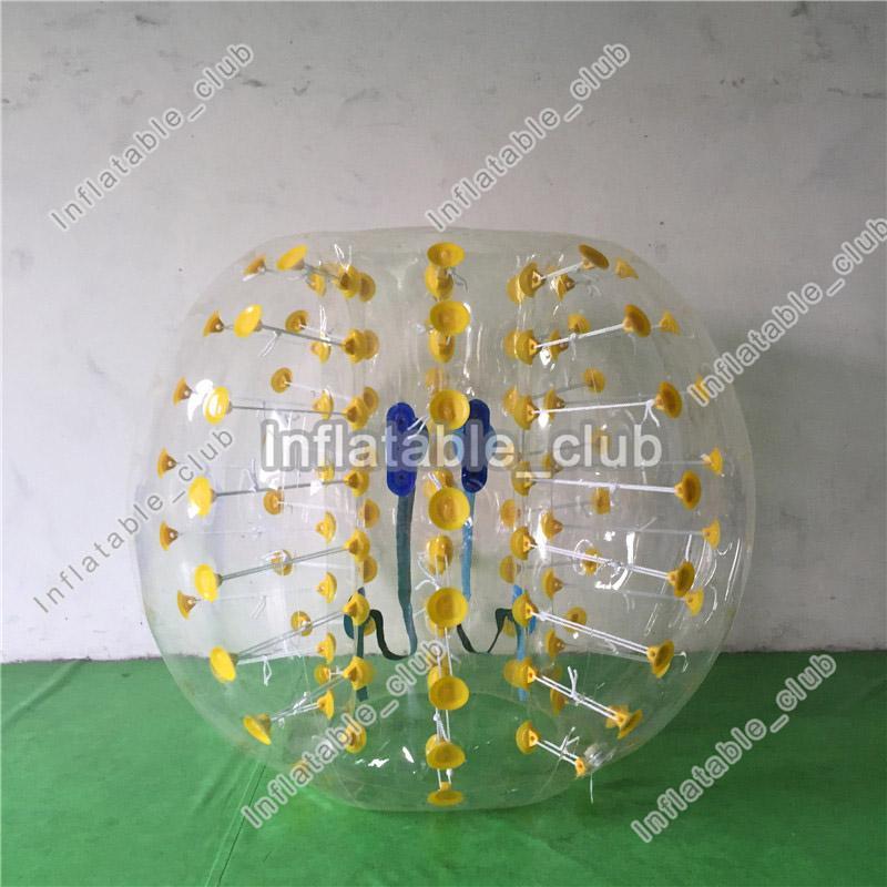 Freies Verschiffen 1.5m aufblasbare Stoßkugel der menschlichen Größe des Durchmessers aufblasbare Fußballblasenkinder und Erwachsenblasenfußball PVC