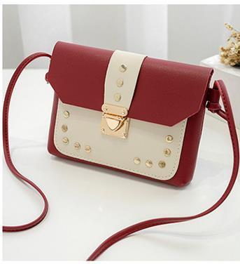 2020 Neue Version Willow Nail Small Square Bag Designer-Kollektion Tasche Luxus-Verschluss-Ketten Mode Weibliche Tasche