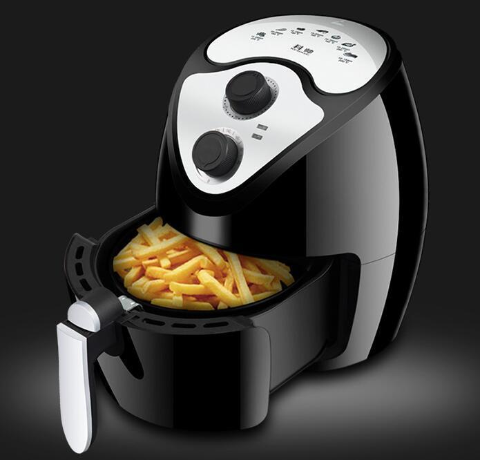 Air Fryer 2.6L 1300W 1300-Watt Electric Hot Air friggitrici forno senza olio antiaderente Cooker frittura, arrostire, grigliare, cottura