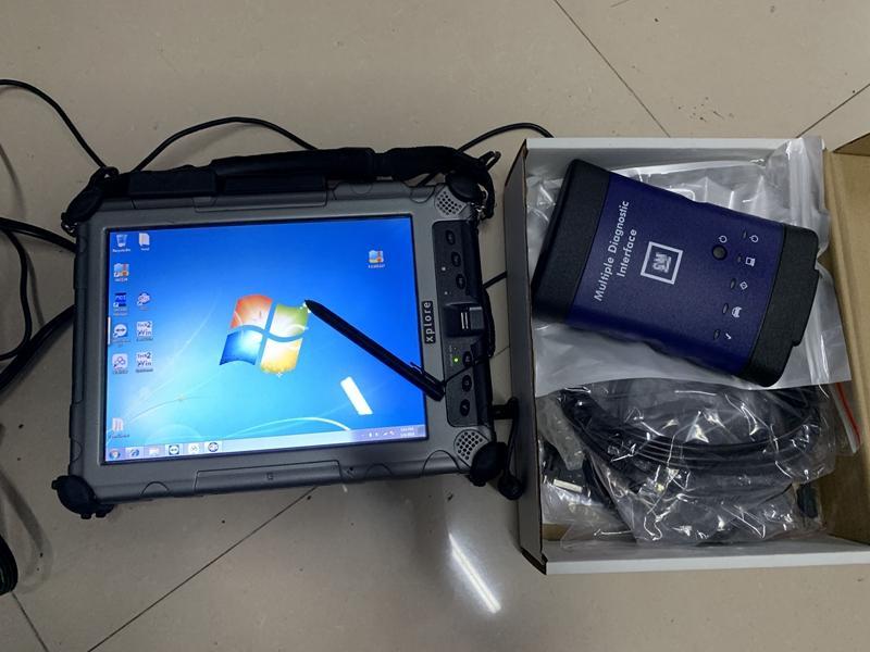 G.M tanı için Çoklu Tanı Arayüz MDI ve işe el dizüstü IX104 I7 4G 240GB SSD Ready programlama 2020 yumuşak eşya