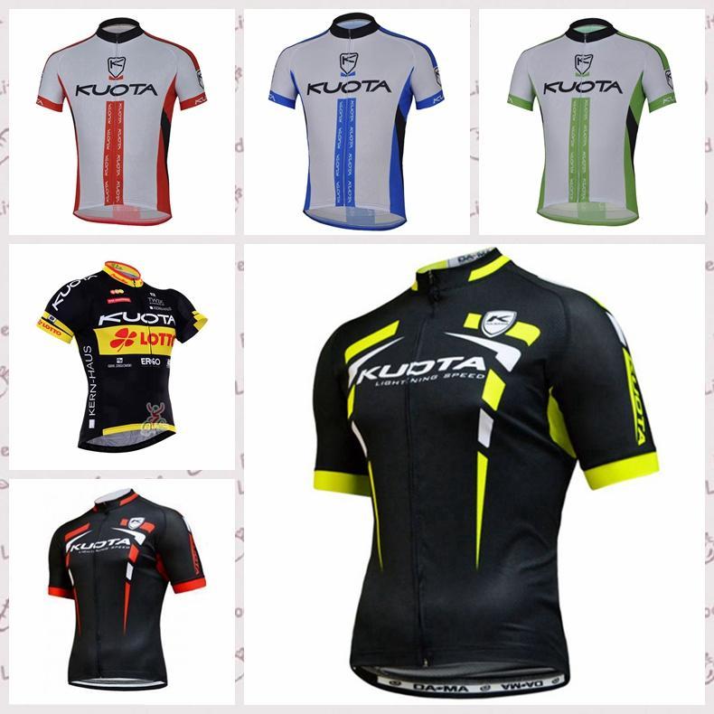 KUOTA équipe Maillot cyclisme manches courtes 2020 Course de vélos Vêtements confortables Respirant Vélo de montagne sport C617-2