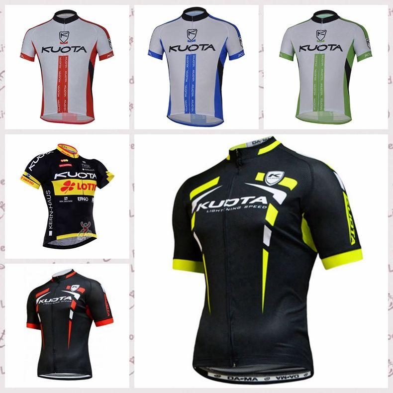KUOTA Mannschaft Radfahren mit kurzen Ärmeln Trikot 2020 Rennradbekleidung bequemen Breathable Bergfahrradsport C617-2