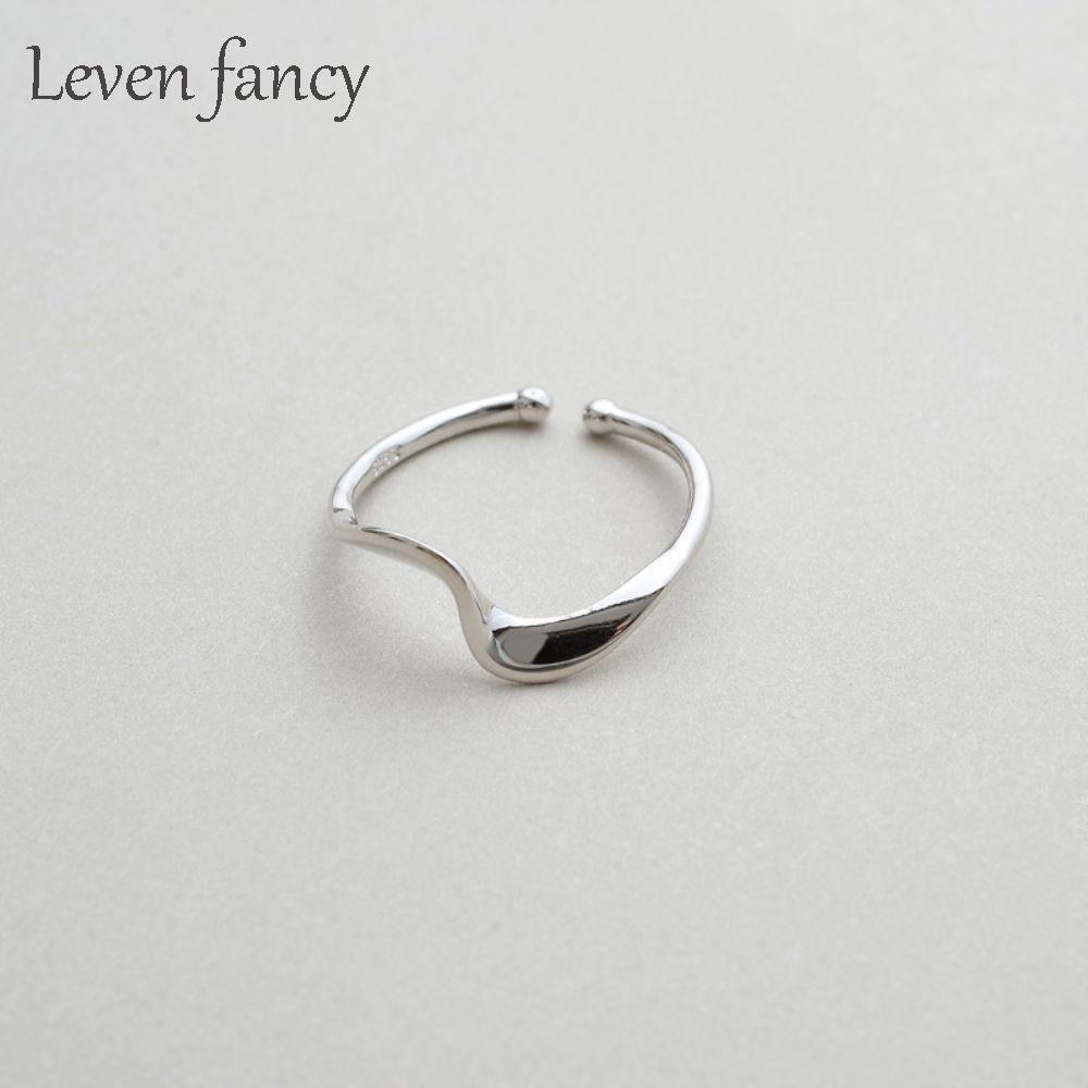 Аутентичное стерлинговое серебро 925 Mobius Витые Персонализированные Кольца для женщин Красивого Fine Jewelry Anillo Mujer кольца