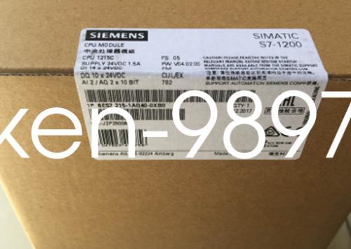 1PC جديد سيمنز 6ES7 215-1AG40-0XB0 6ES7215-1AG40-0XB0 # RS8