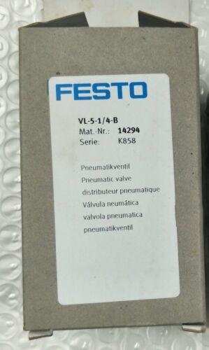 1PCS Brand New FESTO pneumatic control VL-5-1/4-B FREE SHIPPING
