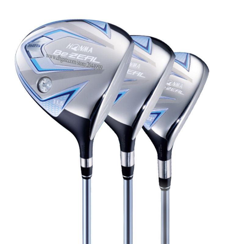 Nuove Donne Golf Clubs Honma Bezeal 525 Golf Wood 135 Driver Wood Clubs Golf Graphite Shaft L Driver Albero e copricapo Spedizione gratuita