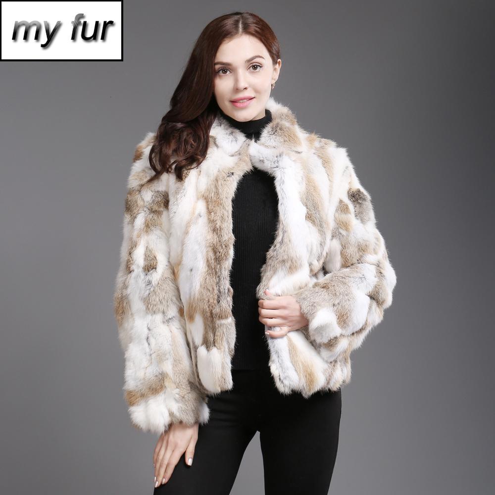 2019 Venda Quente Mulheres Genuíno Real Casaco De Pele Senhora Inverno Quente Real Casaco De Peles Naturais Sobretudo Casuais