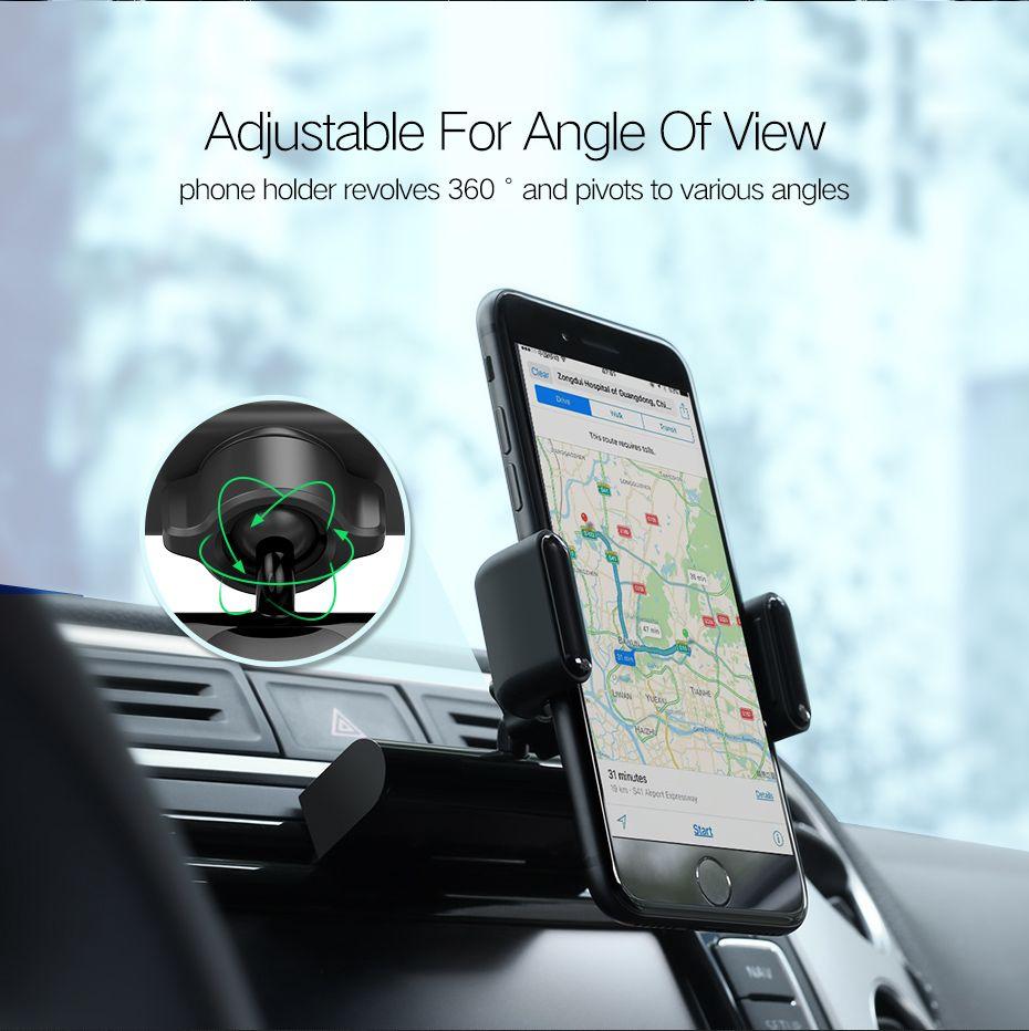 frete grátis Car Telefone Monte CD Slot Car Phone Holder para o iPhone 8 Magnetic Stand Holder Holder Clip de telefone celular para Huawei Tablet GPS