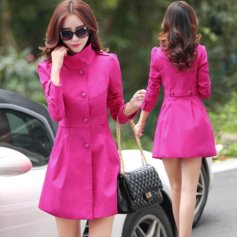 Boolli Trench Coat Women Corean Women's Women's Women's Women Slim Otoño Trench Abrigos Nueva Llegada 2020 SOBRETUDO ABRIGO MUJER