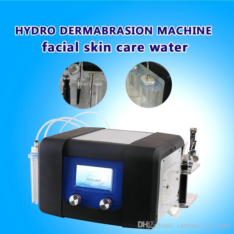 Büyük Promosyon! Hydra yüz cilt bakımı için güçlü vakum hidro dermabrazyon makinesi su satışa aqua Dermabrazyon soyma makinesi