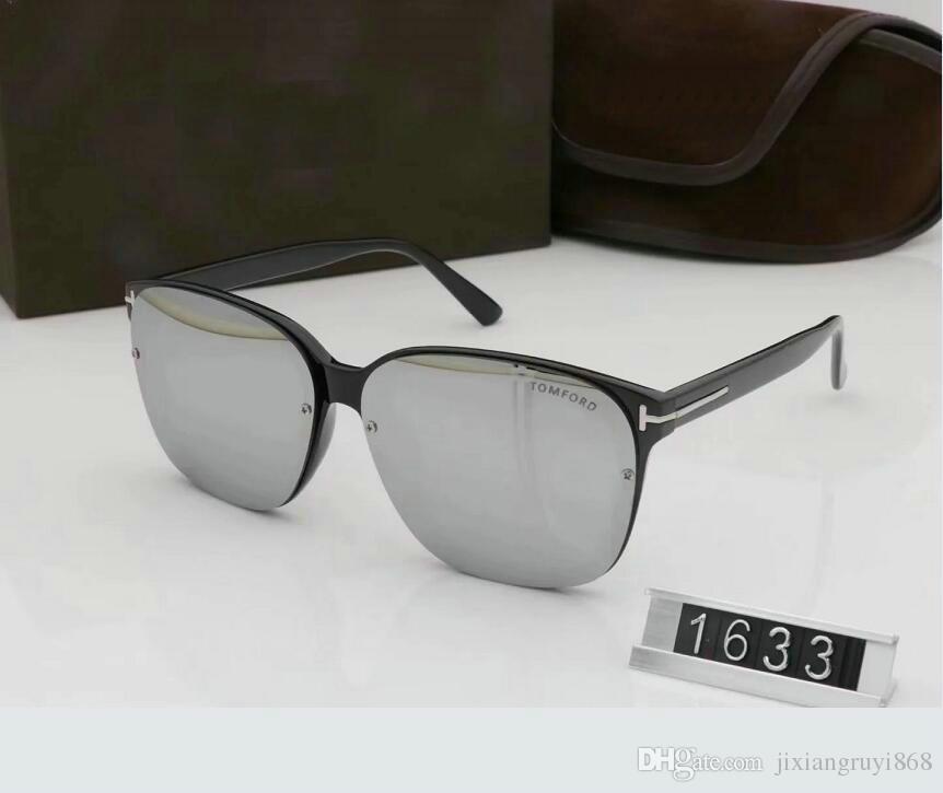 Top qualité nouvelle mode lunettes de soleil pour tom homme femme lunettes designer marque lunettes de soleil ford lentilles avec boîte