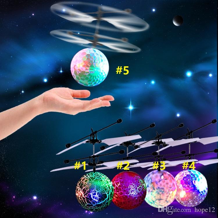 30PCS الطائر برايت المجال RC الأطفال الطائر الكرة المضادة -Stress الطائرة بدون طيار هليكوبتر الأشعة تحت الحمراء التعريفي طائرات التحكم عن بعد اللعب
