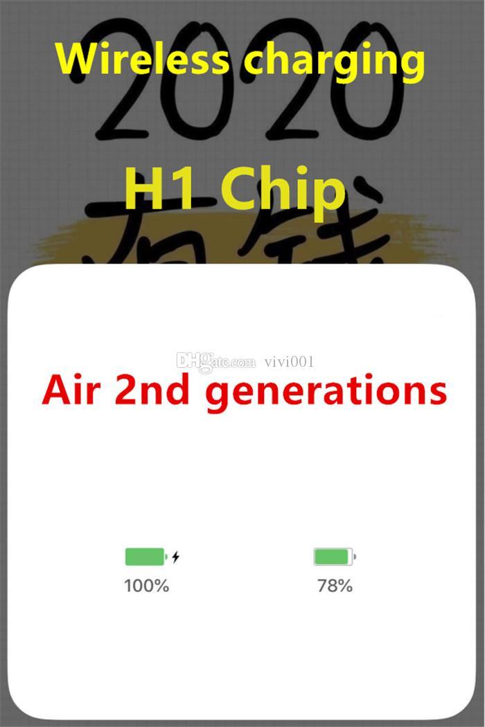 Neueste ursprüngliche Galaxy Buds Kopfhörer Air H1 Chip Umbenannt Headset 2. Generation Wireless-Charging Bluetooth-Kopfhörer GPS Ortung