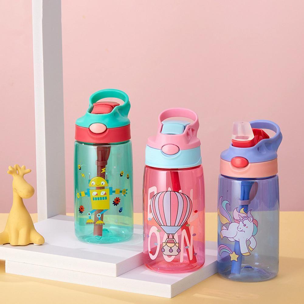 ABD Stok Spor Su Sisi plastik şişe FY4123 kamp ile Taşınabilir Açık Spor Su Kettle Anti-Kaçak İçki Kupası'nı Şişe Sprey 480ml