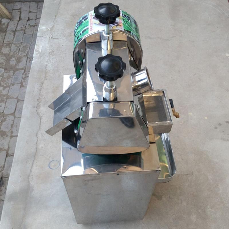 Aço inoxidável frete grátis Manual de Sugar Cane Juicer Extractor Fruit Machine / laranja Lemon Juicer / suco Venda em Preço Baixo