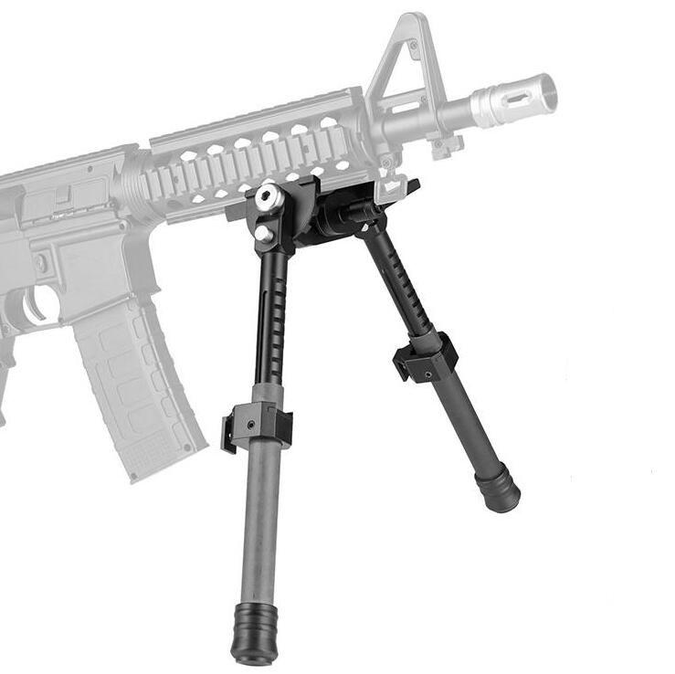 LRA 라이트 Bipod Long Riflescope Bipod AR15 장난감 사냥 수축 가능한 소총 Bipods 장난감