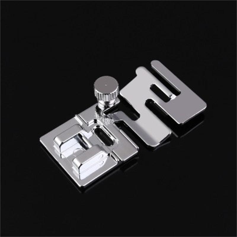 Máquina de costura Presser Foot Tool Lace Stitching Elastic Fabric Sewing Home Parts DIY Fornecedor de fábrica de alta qualidade 2 8npH1