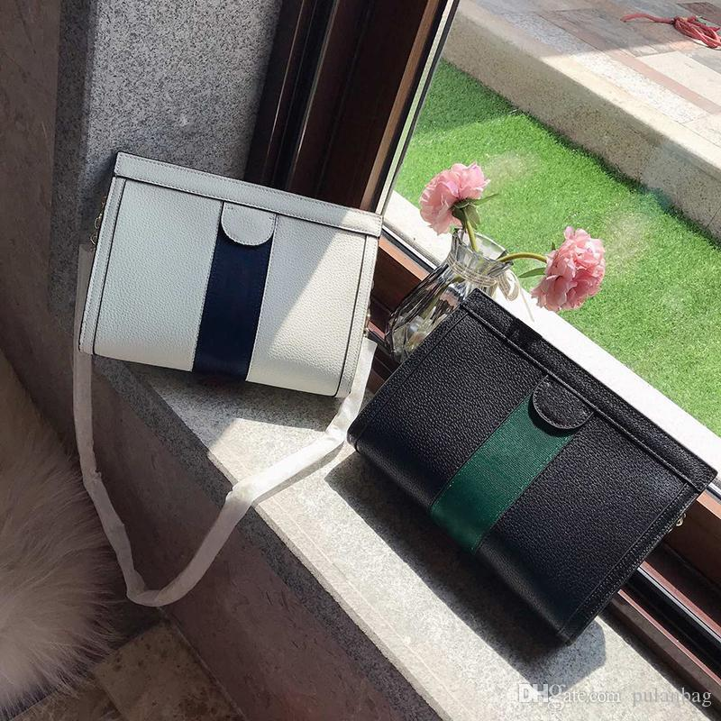 Дизайнер моды цепи одного плеча качества сумка натуральная кожа сумка 100% в Европе и наклонена мешок плеча