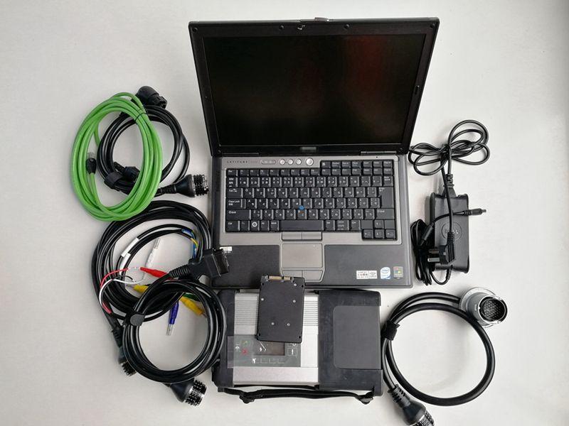 Super mb sd connect c5 star diagnosis c5 mb star c5 2019.05v bien instalado en la computadora portátil d630 4g listo para trabajar