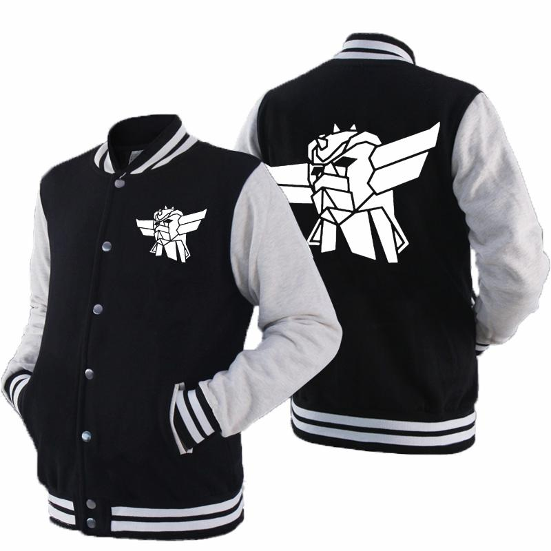 Baseball Jacket Толстовка Толстовка Куртка пальто Customized печати Slim Fit колледж осень Повседневный Dropship
