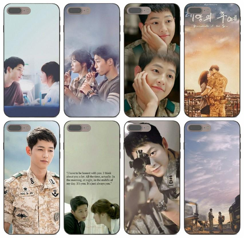 [TongTrade] Korece drama Boyalı 5 Artı Huawei P20 P9 Ücretsiz Kargo Davası 5c Güneş Kılıf iPhone 11 Pro Max X XS 6s 5s Of The Descendants