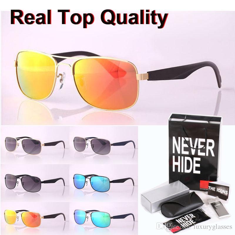 2020 nueva llegada marco gafas de sol de las mujeres de los hombres de metal polarizado deporte de la lente gafas de conducción con la caja original, paquetes, accesorios, todo!